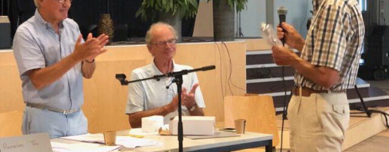 Foto's van de Alg. Leden Vergadering op 16 september 2020